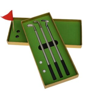 Golfklubbspennor set om 3 st