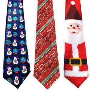 Julslips / Slips med julmotiv - Flera motiv