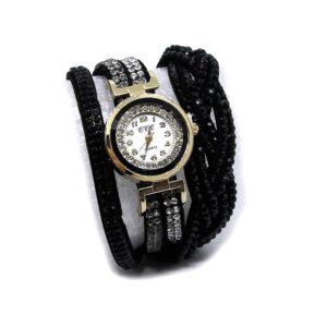 Glittrig damklocka med virat armband v2 - Olika färger