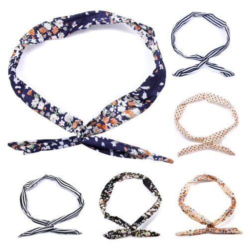 Formbart hårband i tyg - Flera varianter