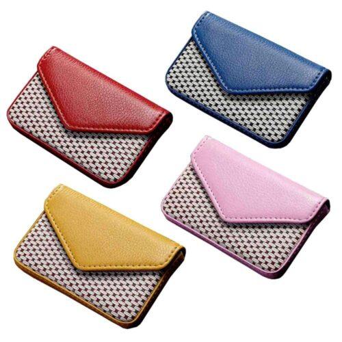 Kortfodral färgglad m mönster - Flera färger