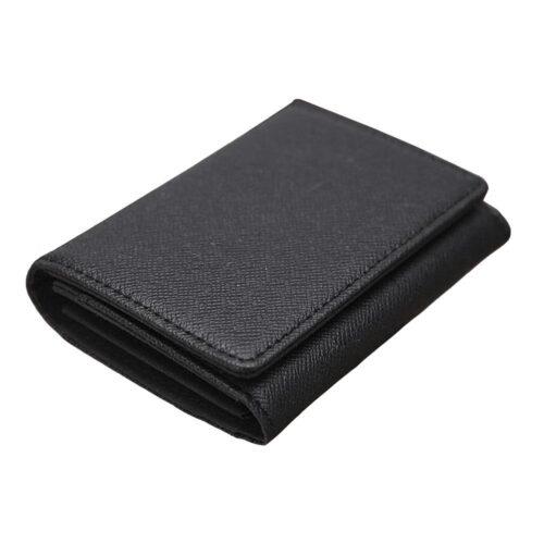 Smidig kortplånbok i svart konstläder - Flera färger