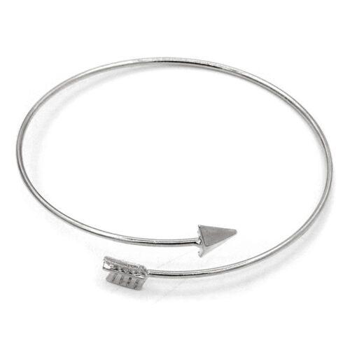 """Armband """"Twisted Arrow"""" - Silver / Guld"""