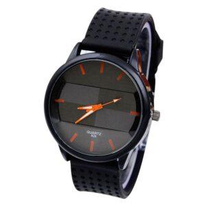 Cool klocka med silikonarmband - Olika färger