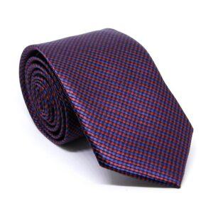 Smal slips smårutig röd / svart / blå