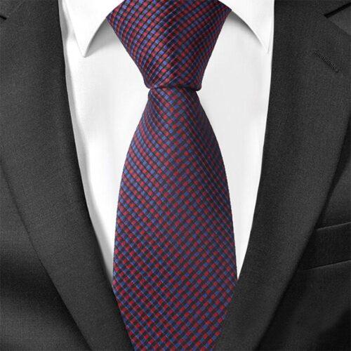 "Smal slips smårutig röd / svart / blå ""Kreuger"""