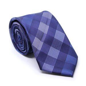 "Smal slips blå bredrandig diagonalt ""Malik"""