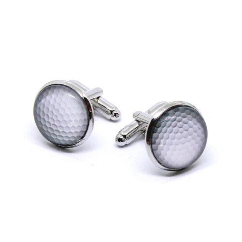 Manschettknappar - Golfbollar