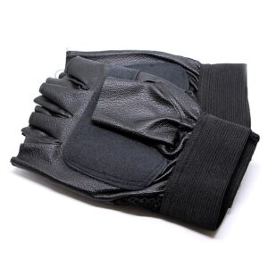 Enkla gymhandskar i svart