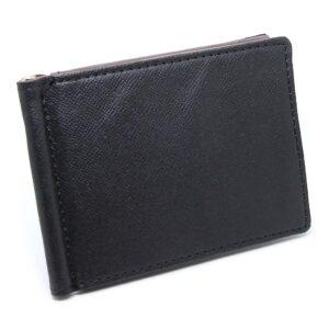 Money Clip / Korthållare - Svart / Gråbrun