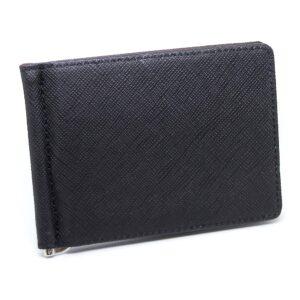 Money Clip / Korthållare - Svart / Rödbrun