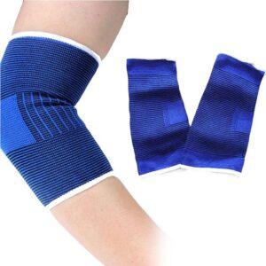 Elastiska armbågsskydd 2-pack