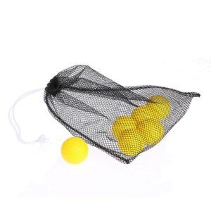 Bollnät / golfbollssäck i nylon 45 golfbollar
