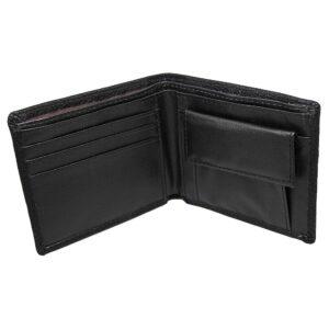 Enkel stilren plånbok - Svart