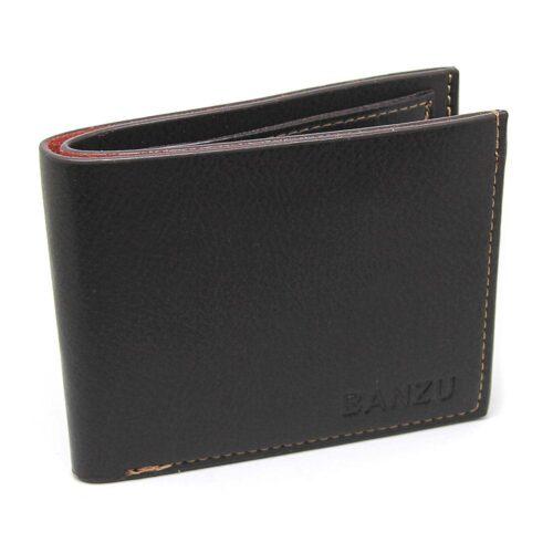 Skön plånbok i äkta läder - Brun