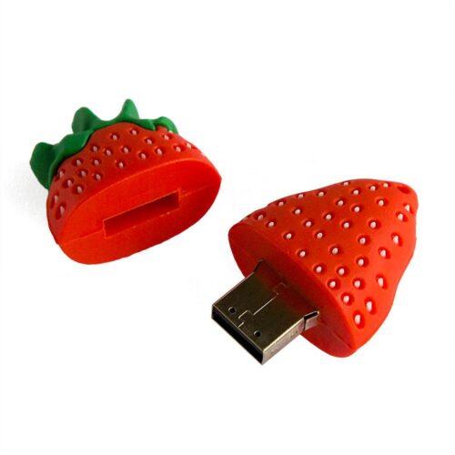 USB-minne 32 GB - Jordgubbe