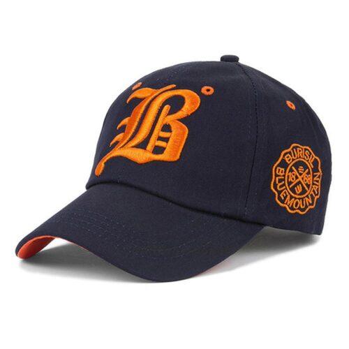 """Keps / Baseballkeps """"B"""" - Mörkblå"""