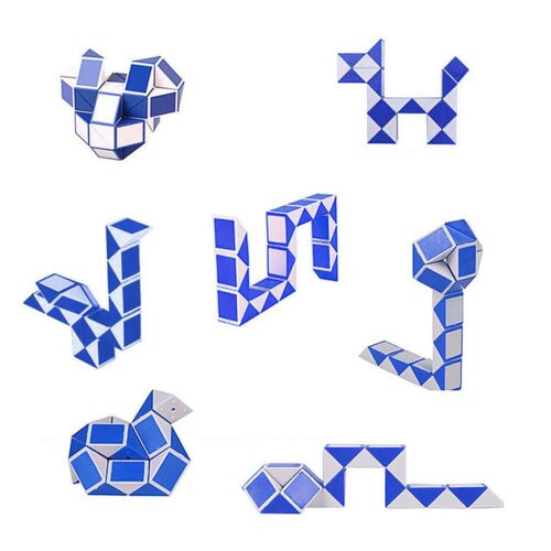 3D Fidget Puzzle Cube - Magisk stresskub