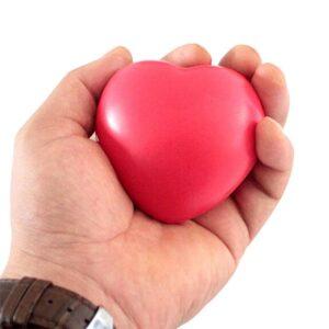 Stressboll i foam - Hjärta