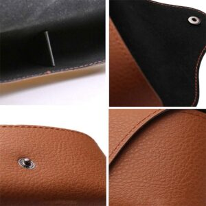 Glasögonfodral / Solglasögonfodral Semi Case - Brunt