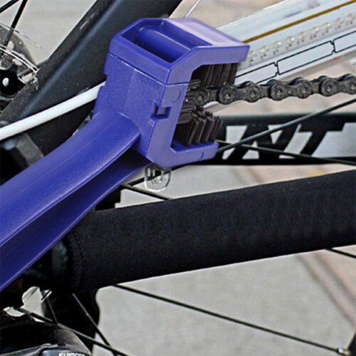 Kedjeborste för cykel