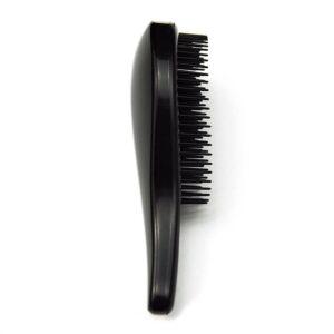 Hårborste för trassligt hår - Svart
