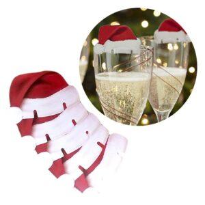 Bordsdekoration / Glasdekoration Jul - Tomteluva 10-pack
