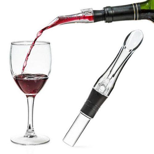 Dekanterare / vinluftare deluxe för vinflaska