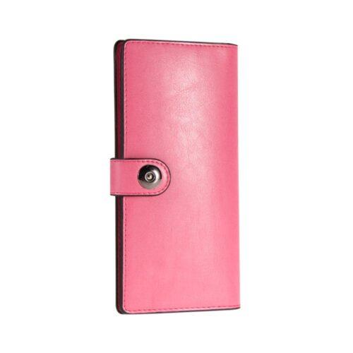 Rymlig damplånbok med knäppning - Olika färger