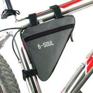 Slimmad cykelväska triangel - Grå