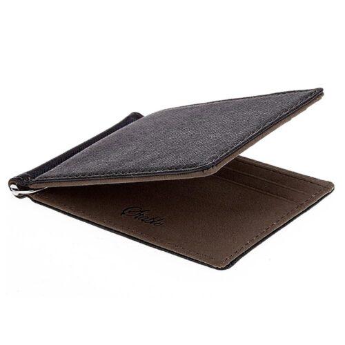 Money Clip / Korthållare - Svart / Mörkbrun