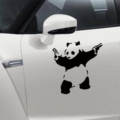Dekal till bil - Crazy Panda