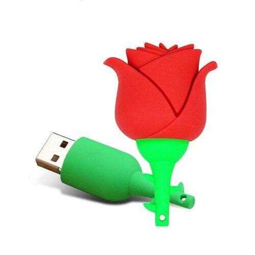 USB-minne 16 GB - Röd ros