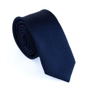 """Smal slips mörkblå m tunna ränder """"Everett"""""""