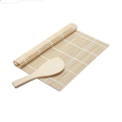 Sushimatta med träslev