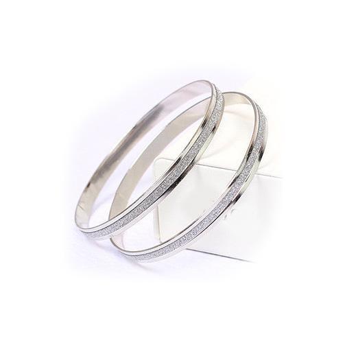 Armband bred ring med glitter - Olika färger