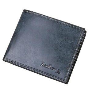 Stilren plånbok i konstläder - Olika färger