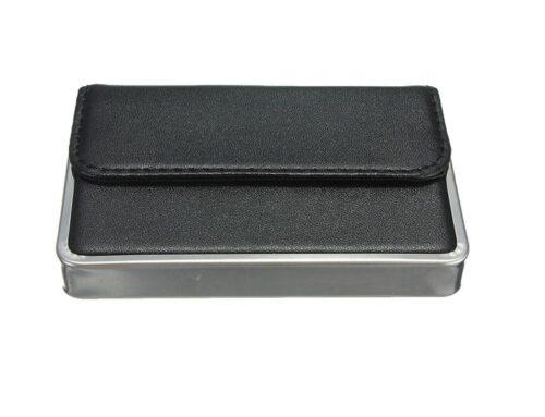 Korthållare med metallkant