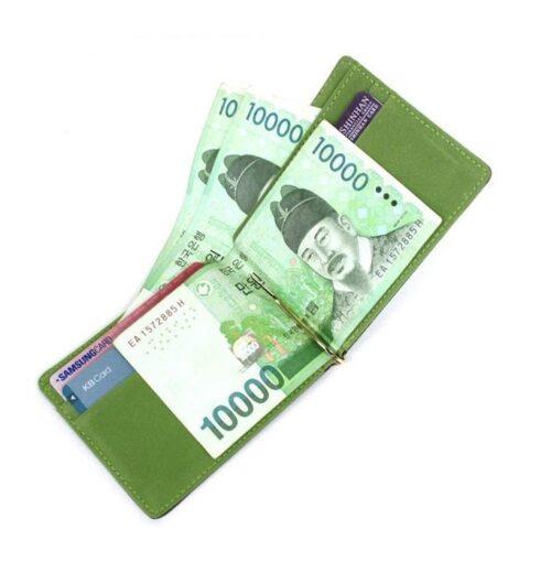Money Clip / Korthållare - Svart / Grå