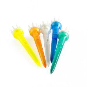 Plastpeggar med krona - 10-pack