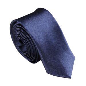 Smal / slimmad modern slips - mörkblå