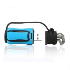 USB-minne 16 GB - Golfbag blå