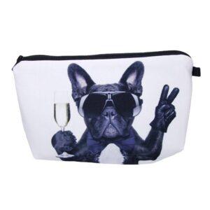 Tuff sminkväska med tryck - Cool hund