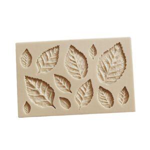 Silikonform för bakning / choklad - Blad / Löv