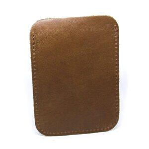 Slim vintage korthållare - Brun