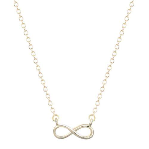 Halsband infinity - Guld