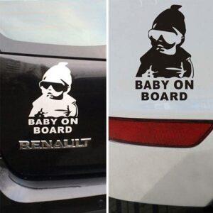 Dekal till bil - Baby on Board