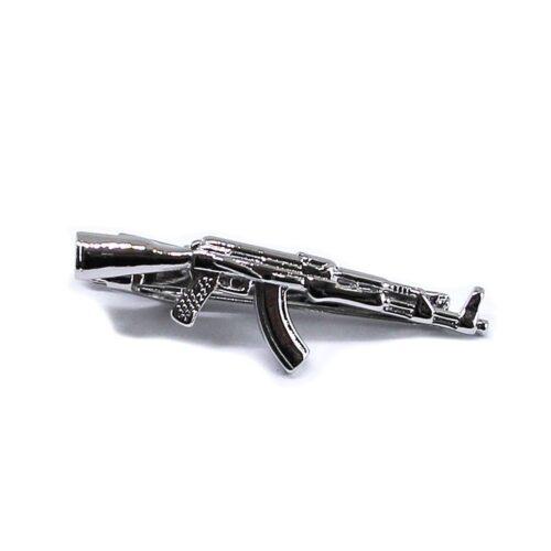 Tuff slipsnål - Silver Rifle