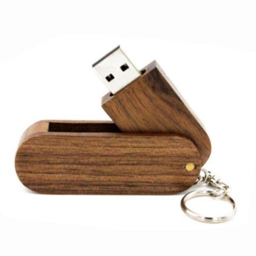 USB-minne 16 GB Träbit - Flera färger