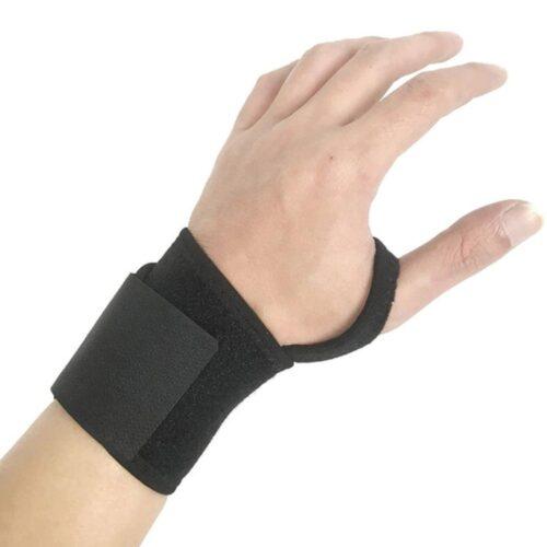 Enkelt stabilt handledsskydd